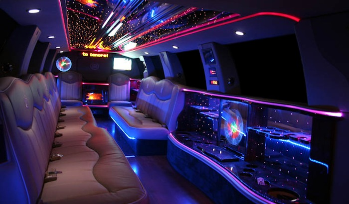 Largest 18 Passenger Limousine in Massachusetts is the Cadillac Escalade Limousine by First Choice Limousine Service