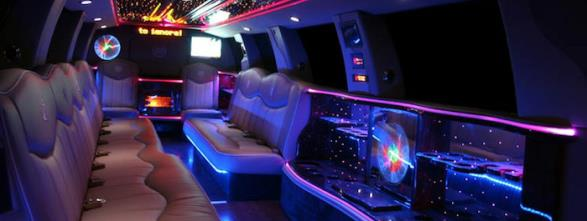 Cheapest, most affordable limousines in Wilmington, Massachusetts as well as party bus rentals.